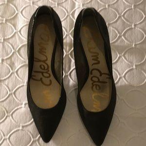 Black sexy Sam Edelman heels